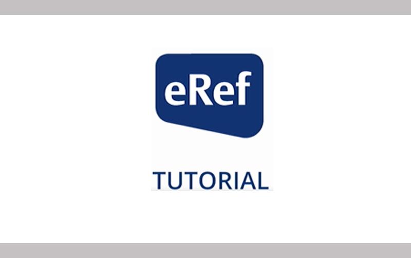 ERef Tutorial
